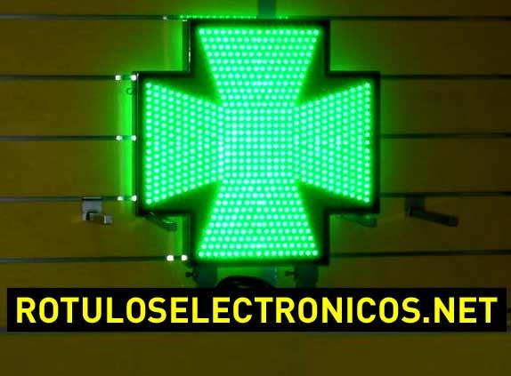 Cruces de farmacia de led Normativa Madrid