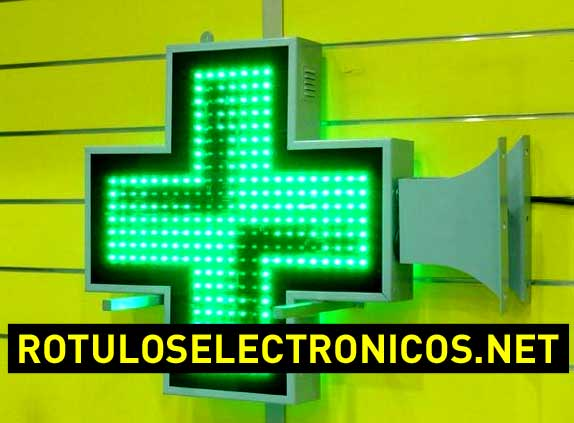 Precios de cruces de farmacia de leds