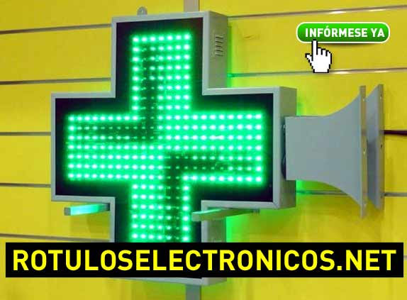 Cruces de farmacia verdes